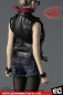 Mobile Preview: 1:6 Leather Sleeveless Moto Jacket Sets