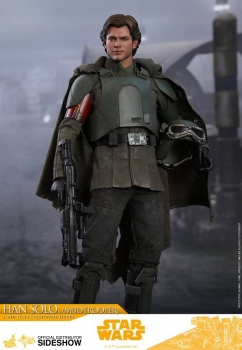 Star Wars Solo Movie Masterpiece Actionfigur 1/6 Han Solo Mudtrooper 31 cm