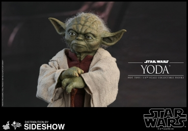 Star Wars Episode II Movie Masterpiece Actionfigur 1/6 Yoda 14 cm