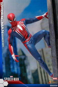 Marvel's Spider-Man Videogame Masterpiece Actionfigur 1/6 Spider-Man Advanced Suit 30 cm