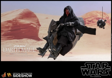 Star Wars Episode I DX Series Actionfigur 1/6 Darth Maul & Sith Speeder 29 cm