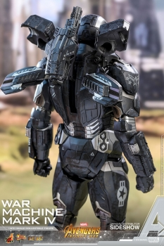 Avengers Infinity War Diecast Movie Masterpiece Actionfigur 1/6 War Machine Mark IV 32 cm