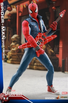 Marvel's Spider-Man Video Game Masterpiece Actionfigur 1/6 Spider-Punk 30 cm