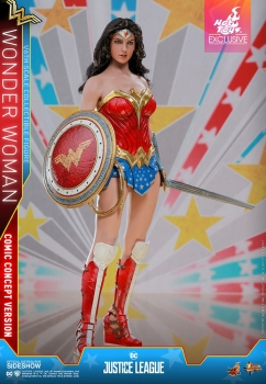 | HOT TOYS | Wonder Woman Comic Concept Version EXKLUSIV