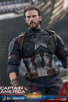 Avengers Infinity War Movie Masterpiece Actionfigur 1/6 Captain America 31 cm