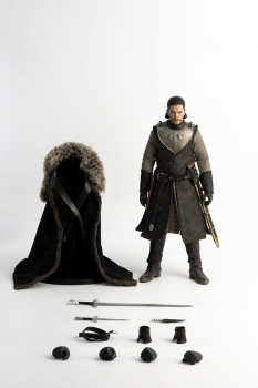 threezero | Game of Thrones Actionfigur 1/6 Jon Snow (Season 8) 29 cm