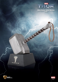 KOMMISSIONSWARE ! Thor The Dark Kingdom Replik 1/1 Thors Hammer 62 cm