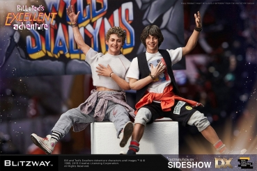 Blitzway | Bill & Ted's Excellent Adventure Action Figure 2-Pack 1/6 Bill & Ted 28-29 cm