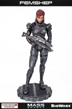 Mass Effect Statue 1/4 Femshep 51 cm - Gaming Heads