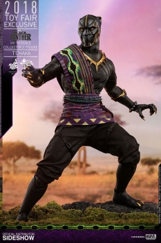 |HOT TOYS Black Panther MMS Actionfigur 1/6 T'Chaka 2018 Toy Fair Exclusive 31 cm