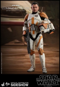 Hot Toys | Star Wars Episode III Movie Masterpiece Actionfigur 1/6 Commander Cody 30 cm