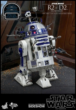 Star Wars Movie Masterpiece Actionfigur 1/6 R2-D2 Deluxe Ver. 18 cm