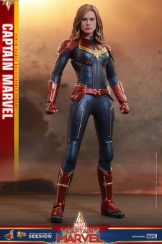 HOT TOYS  - Captain Marvel Movie Masterpiece Actionfigur 1/6 Captain Marvel 29 cm