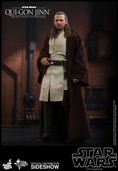 HOT TOYS | Star Wars Episode I Movie Masterpiece Actionfigur 1/6 Qui-Gon Jinn 32 cm