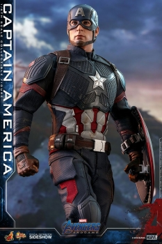 HOT TOYS | Avengers: Endgame Movie Masterpiece Actionfigur 1/6 Captain America 31 cm