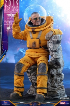 HOT TOYS - Guardians of the Galaxy Vol. 2 MM Actionfigur 1/6 -  Stan Lee - 2019 Toy Fair Exclusive