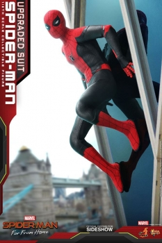 HOT TOYS | Spider-Man: Far From Home Movie Masterpiece Actionfigur 1/6 Spider-Man (Upgraded Suit) 29 cm