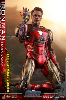 HOT TOYS | Avengers: Endgame MMS Diecast Actionfigur 1/6 Iron Man Mark LXXXV 85 Battle Damaged Ver. 32 cm