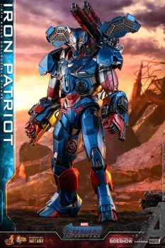 HOT TOYS | Avengers: Endgame Movie Masterpiece Series Diecast Actionfigur 1/6 Iron Patriot 32 cm