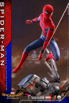 HOT TOYS | Spider-Man: Homecoming Quarter Scale Series Actionfigur 1/4 Spider-Man 44 cm