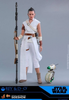 HOT TOYS | Star Wars Episode IX Movie Masterpiece Actionfiguren Doppelpack 1/6 Rey & D-O 28 cm