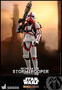 | HOT TOYS  Star Wars The Mandalorian Actionfigur 1/6 Incinerator Stormtrooper