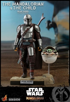 |HOT TOYS - Star Wars The Mandalorian Actionfiguren Doppelpack 1/6 The Mandalorian & The Child Deluxe