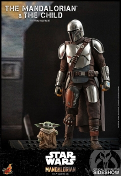 |HOT TOYS - Star Wars - The Mandalorian - Actionfiguren Doppelpack 1/6 The Mandalorian & The Child
