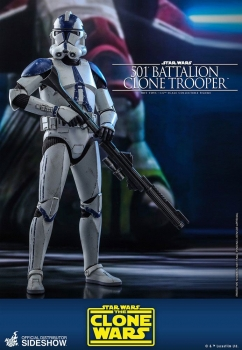 |HOT TOYS - Star Wars The Clone Wars - 501st Battalion Clone Trooper