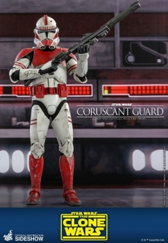 |HOT TOYS - Star Wars The Clone Wars - Coruscant Guard