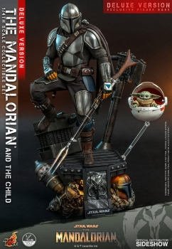 Star Wars - The Mandalorian - 1/4 The Mandalorian & The Child Deluxe
