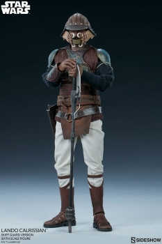 | SIDESHOW  Star Wars Episode VI Actionfigur 1/6 Lando Calrissian Skiff Guard Version