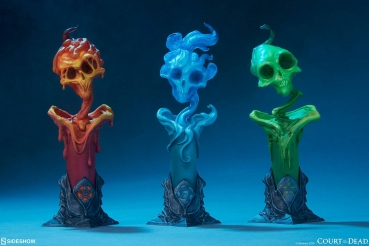 SIDESHOW Court of the Dead Court Statuen