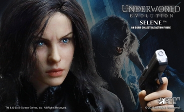 STAR ACE | Underworld - Evolution: Blue Eyed Selene 1:6 Scale Parts Set *NUR DER HEAD und MANTEL*
