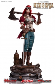 TBLEAGUE | Red Sonja Actionfigur 1/6 Steampunk Red Sonja Deluxe Version 29 cm