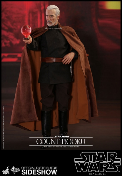 Star Wars Episode II Movie Masterpiece Actionfigur 1/6 Count Dooku 33 cm