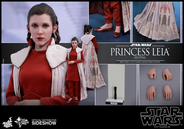 Star Wars Episode V Movie Masterpiece Actionfigur 1/6 Prinzessin Leia Bespin 27 cm
