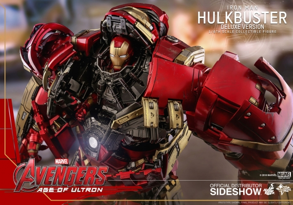 Avengers Age of Ultron Movie Masterpiece Actionfigur 1/6 Hulkbuster Deluxe Ver. 55 cm
