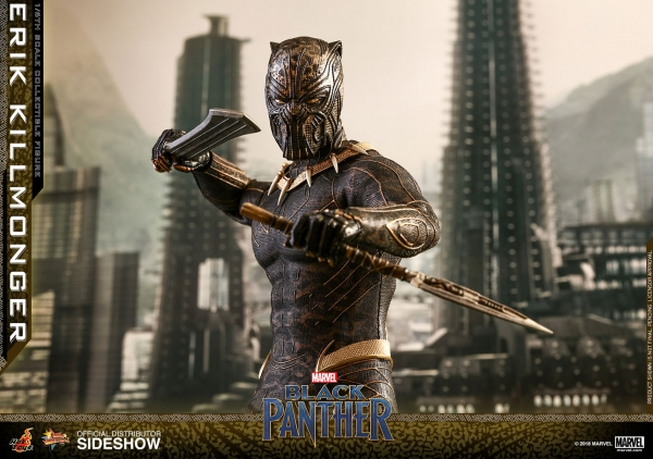 Black Panther Movie Masterpiece Actionfigur 1/6 Erik Killmonger 31 cm