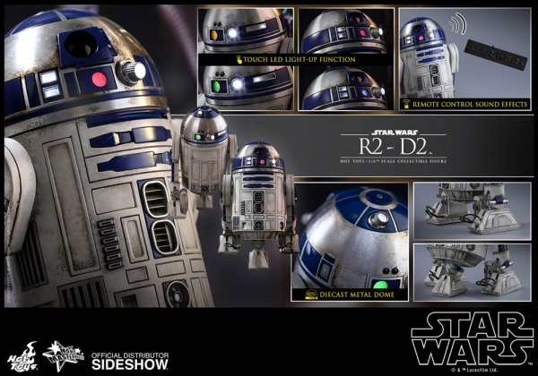 HOT TOYS - Star Wars Episode VII Movie Masterpiece 1/6 - R2-D2