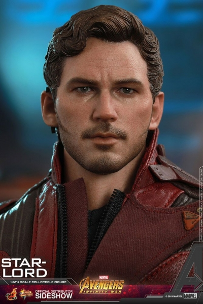 HOT TOYS | Avengers: Infinity War Movie Masterpiece Actionfigur 1/6 Star-Lord 31 cm