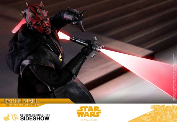 HOT TOYS | Solo: A Star Wars Story Movie Masterpiece Actionfigur 1/6 Darth Maul 29 cm