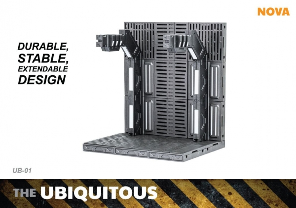 Ubiquitous Actionfiguren Diorama Case Standard Edition